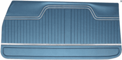 Dörrpanel fram Std  Chevelle 1970-72