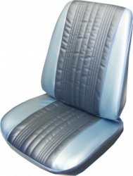 1967 Impala Split Bench Seat Covers: