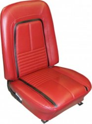 1967 Camaro Deluxe Bucket Seat Covers