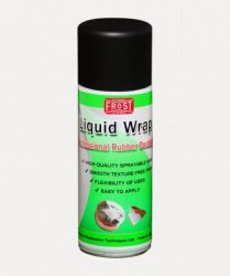 Liquid Wrap Black Gummifärg