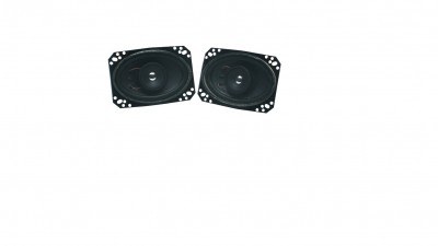 4X6 dual midrange tweeter speakers