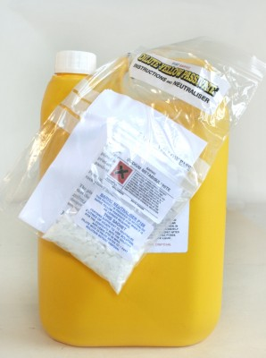 Yellow Pasivate Solution